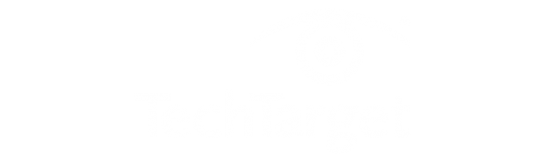 TechTarget Account Targeting Certified Sales Technology Logo in White