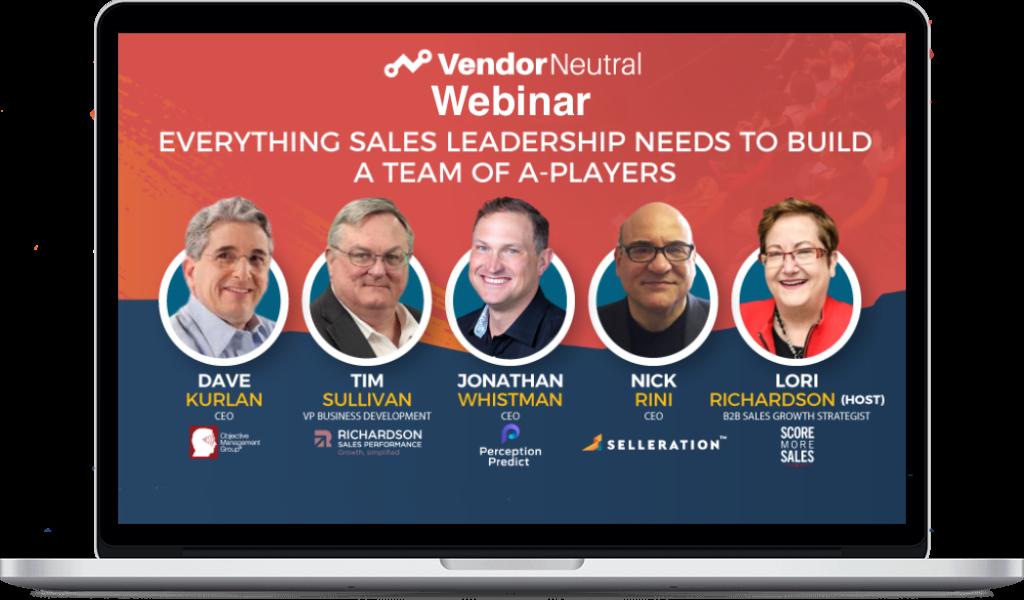 Everything Sales Leadership Needs On Demand Image