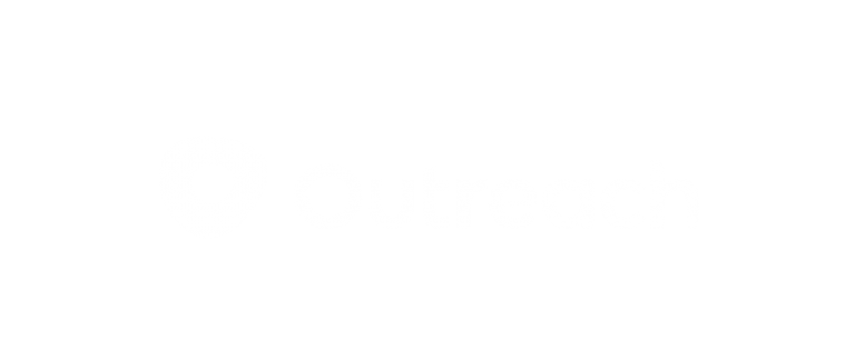 Outreach White Logo