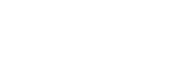 Integrity Solutions White Profile Page Logo