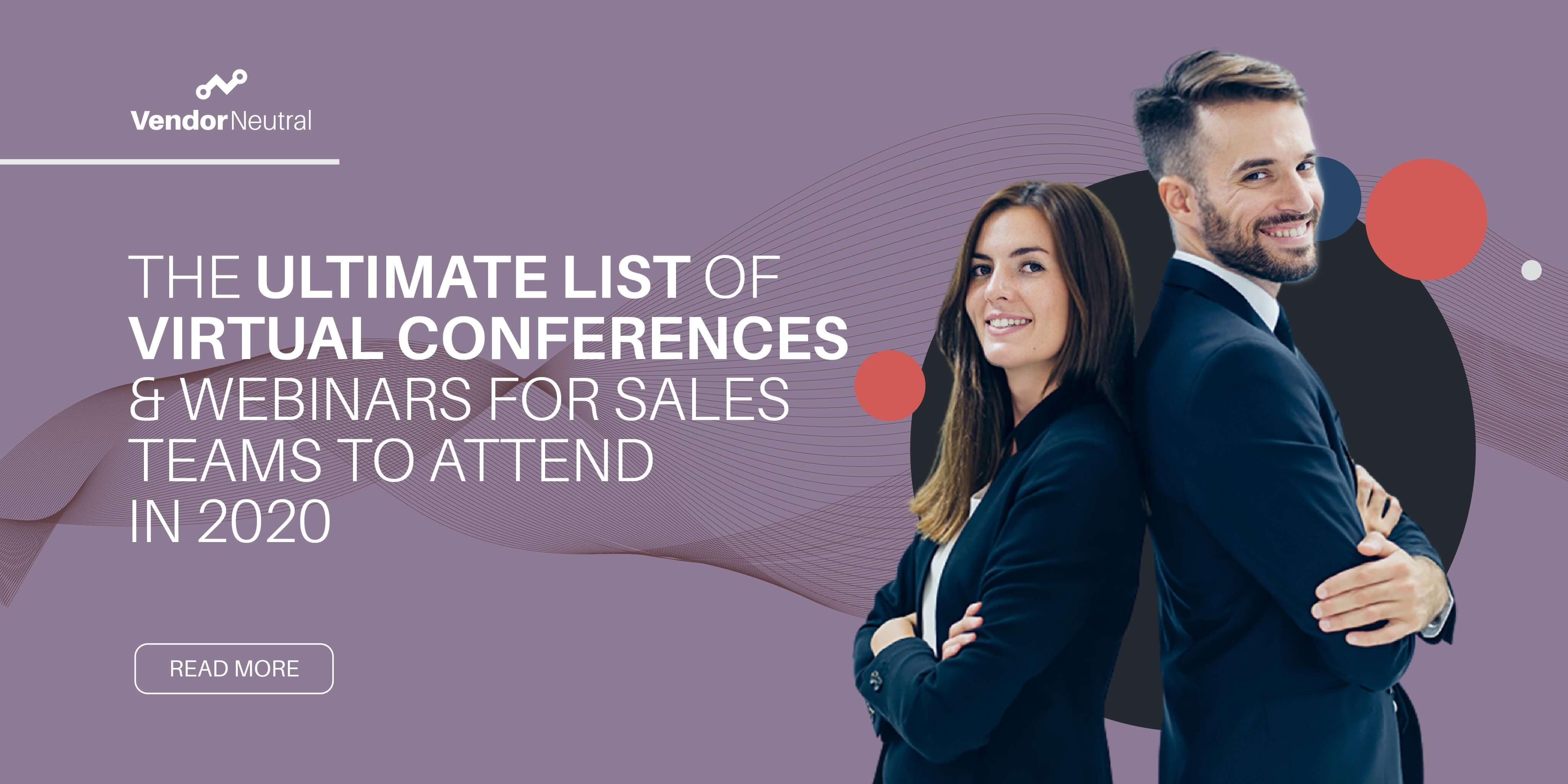 Ultimate List of Virtual Sales Technology Conferences