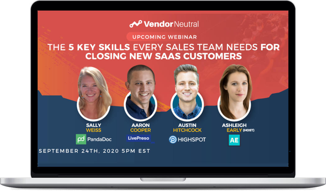 5 Key Skills Every Sales Team Needs Webinar
