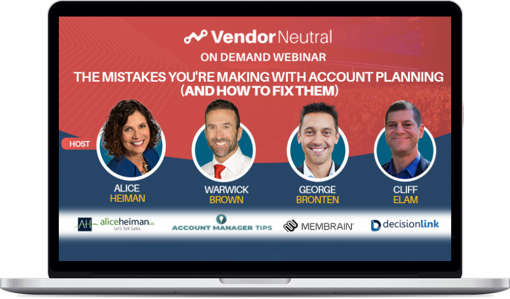 The Mistakes Your Making With Account Planning