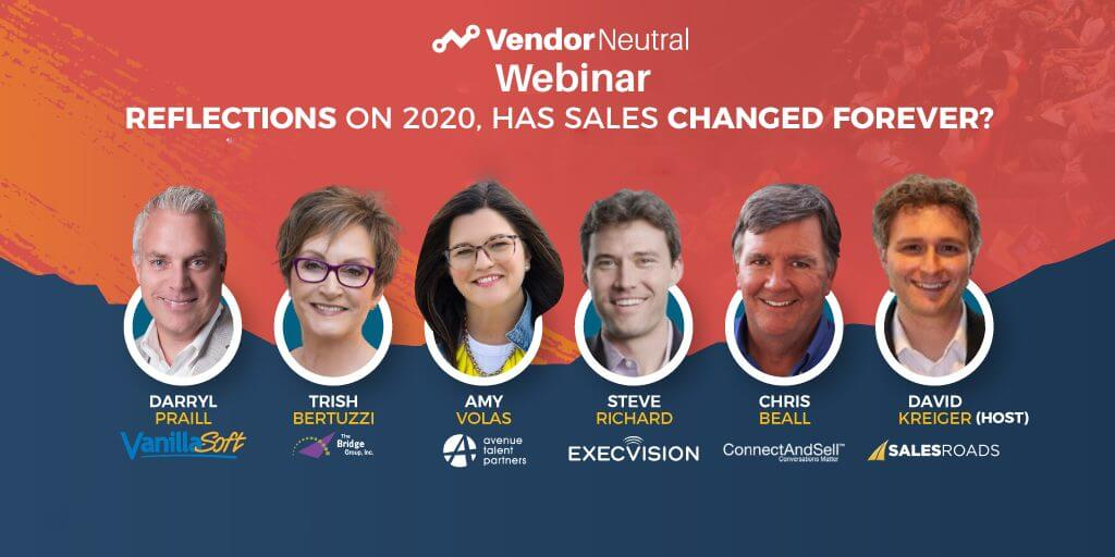 Reflections on 2020. Has Sales Changed Forever