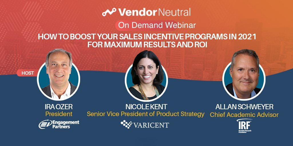 Boost Your Sales Incentives Program for 2021 On Demand Webinar