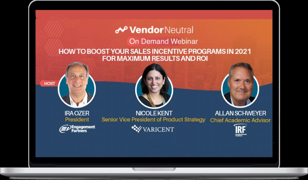 Boost Your Sales Incentives Program for 2021 Webinar