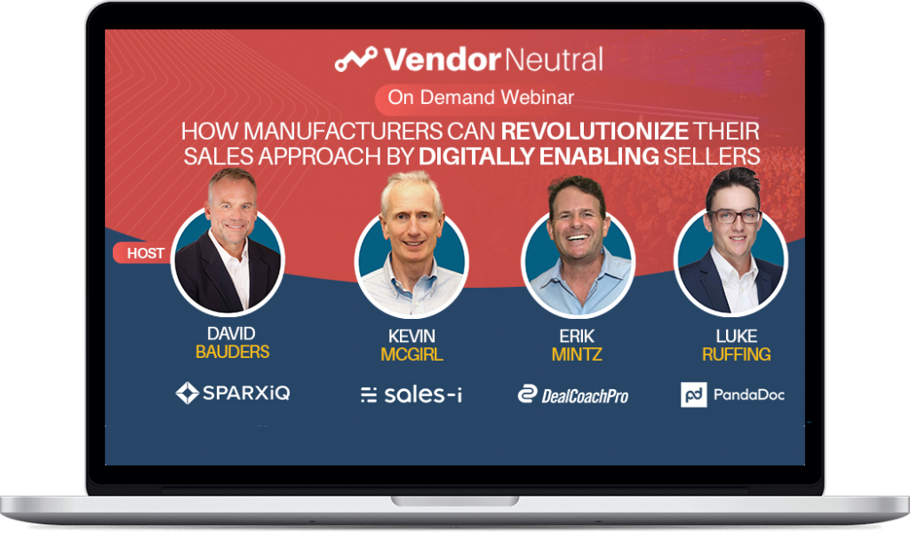 Manufacturers Can Revolutionize Their Sales Approach by Digitally Enabling Sellers Macbook Image