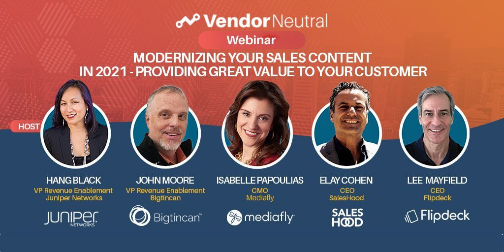 Sales Content Providing Value to Your Customer Panel Feature Image