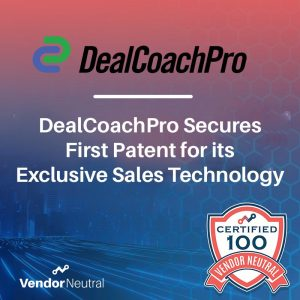DealCoachPro Exclusive Sales Technology Awarded Patent Press Release Feature Image Square