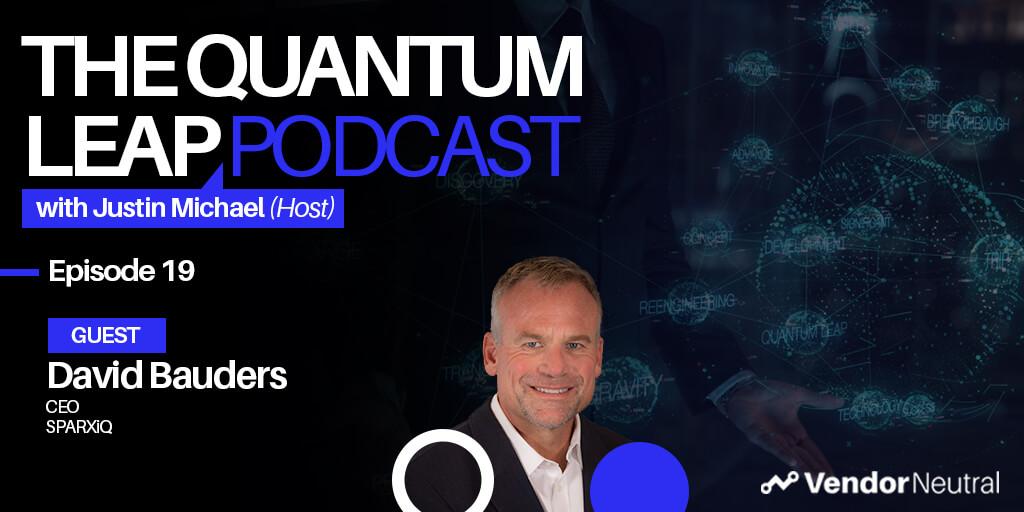 The Future of Sales Training Quantum Leap Podcast Episode 19 Graphic
