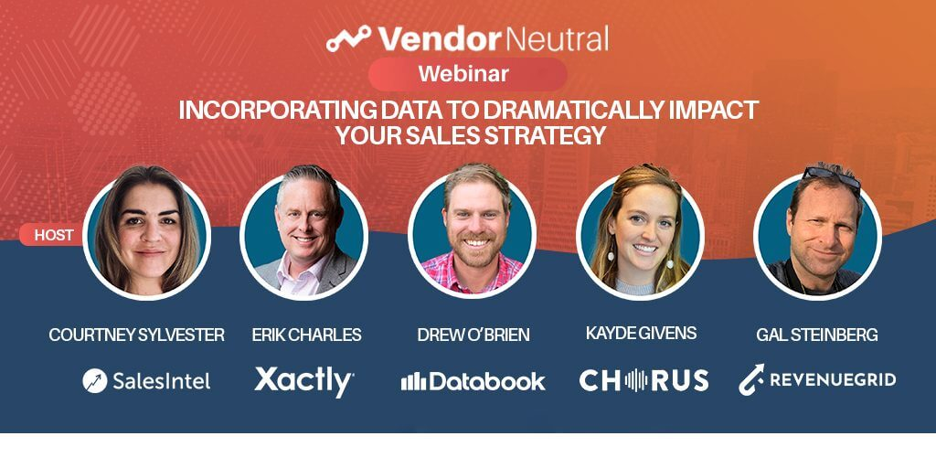 Data Impact Sales Strategy Webinar On Demand Panel Image