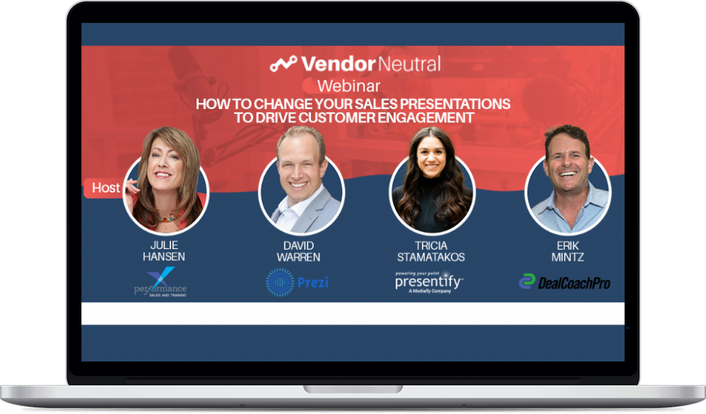 Sales Presentation Customer Engagement Webinar