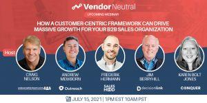 Customer-Centric Framework To Drive Massive Growth Webinar Panel Image
