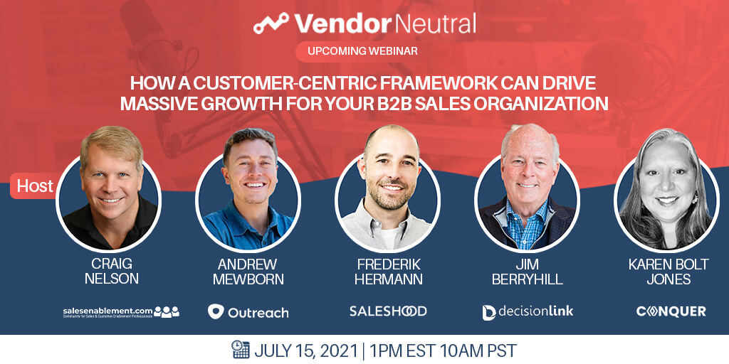 Customer-Centric Framework to Drive Massive Growth for Your B2B Sales