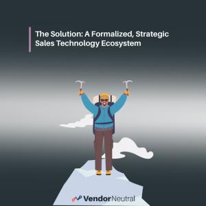 Sales Technology Stack Solution A Sales Technology Ecosystem