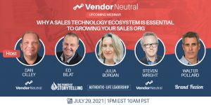Sales Technology Ecosystem To Grow Your Sales Org