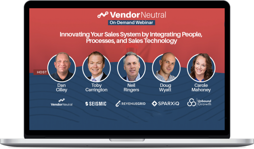 Innovating Your Sales System by Integrating People Process and Sales Technology
