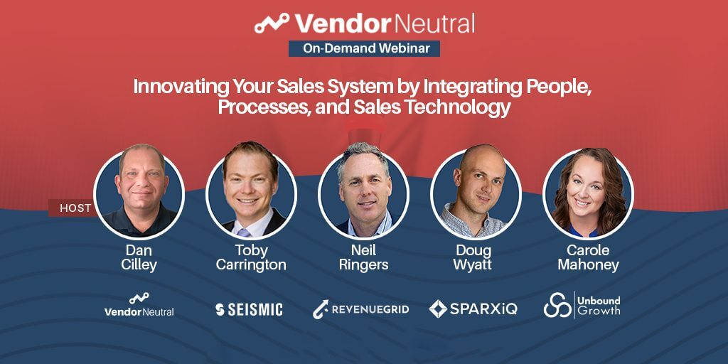 Innovating Your Sales System With People, Processes and Sales Technology