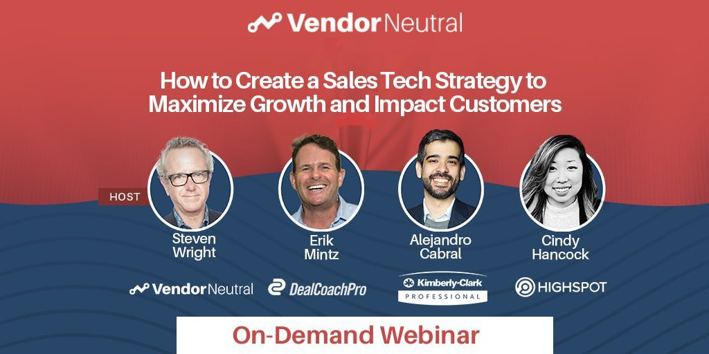Create a Sales Technology Strategy to Maximize Growth and Impact Customers