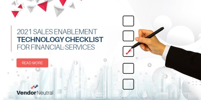 Financial Service Firms Sales Enablement Checklist Image