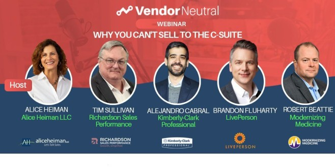 Selling to the C-Suite Webinar On Demand