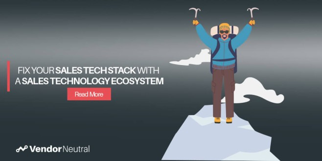 Sales Technology Stack Investment Sales Technology Ecosystem
