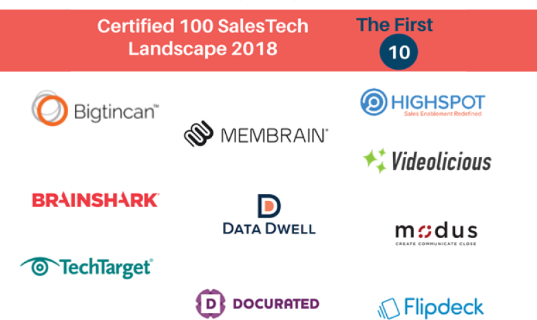 Vendor Neutral Announces First Ten SalesTech Vendors to Enter the Certified 100 Program