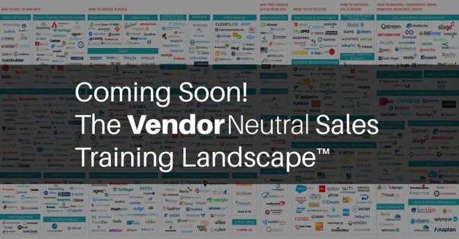 Sales Training Landscape Vendor Neutral