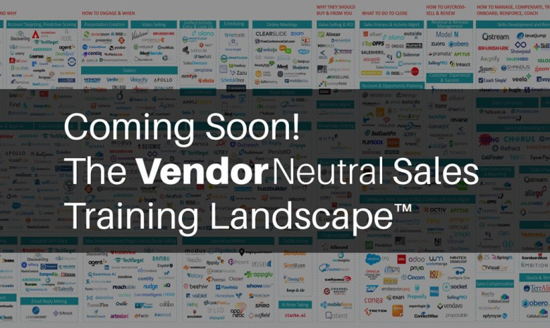 Vendor Neutral Introduces New Sales Training Landscape.