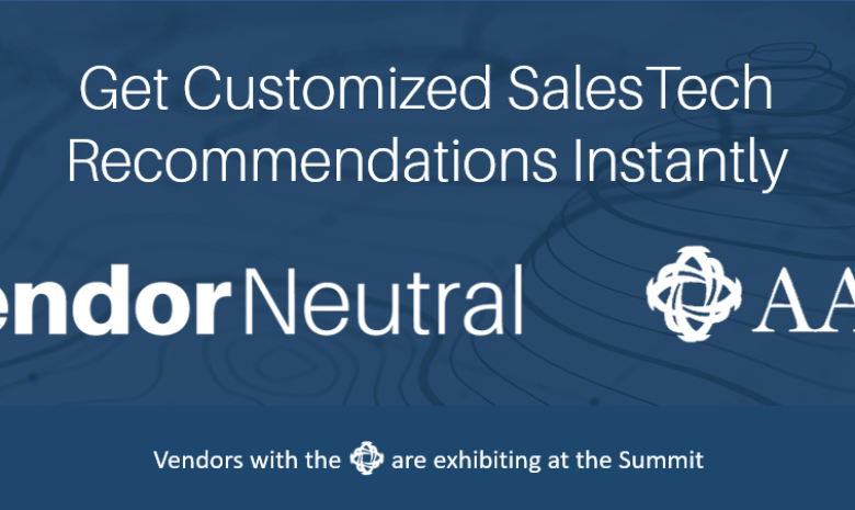 Vendor Neutral Partners with AAISP To Provide Resources That Help Buyers To Identify Sales Technology Resources.