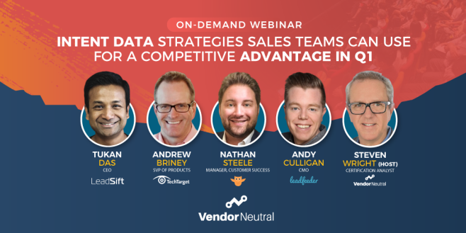 Intent Data Strategies Sales Teams Can Use For A Competitive Advantage In Q1