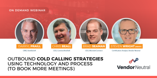 Outbound Cold Calling Strategies Using Technology and Process Webinar Ondemand