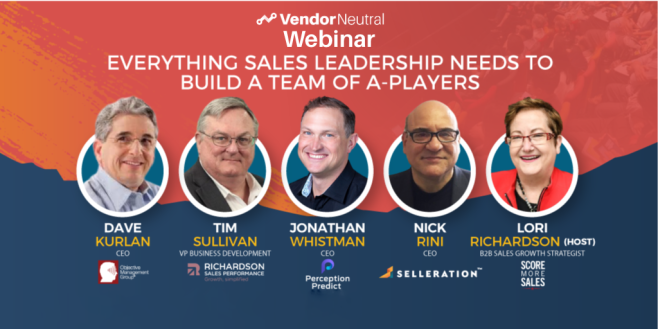 Everything Sales Leadership Needs to Build a Team of A Players
