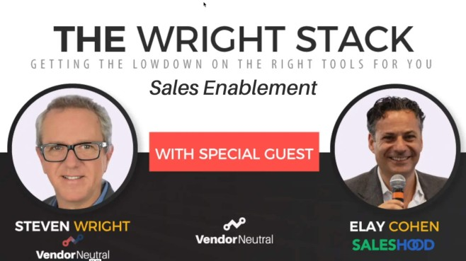 SalesHood Sales Enablement Wright Stack