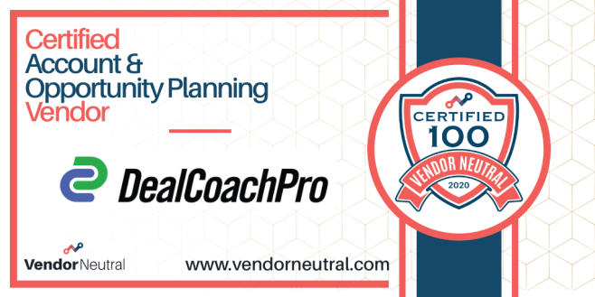 DealCoachPro Certified Account & Opportunity Planning Deal Execution