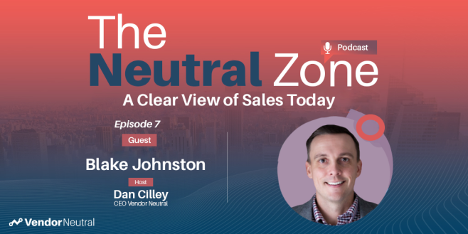 Clear View of Sales Episode 7 Blake Johnston