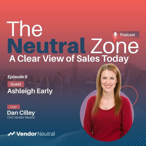 Clear View of Sales Podcast with Ashleigh Early