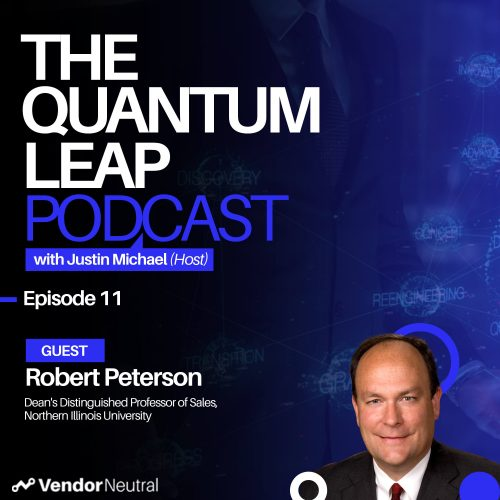 Quantum Leap Episode 11 with Robert Peterson: Developing the Revenue Leaders of Tomorrow