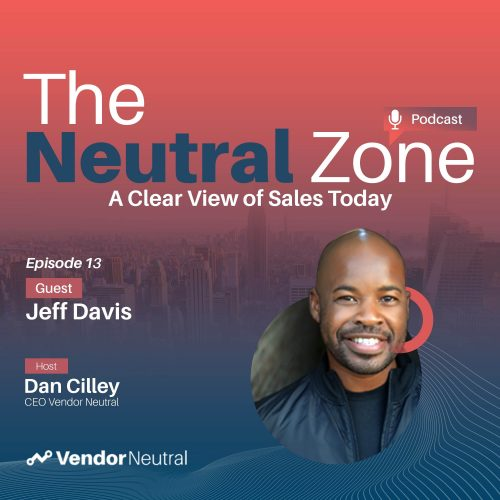 Focus on these 3 things for Sales Technology Adoption Clear View of Sales Podcast with Jeff Davis Square Cover